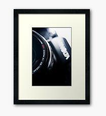 AutoFocus Zoom Framed Print
