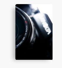 AutoFocus Zoom Canvas Print