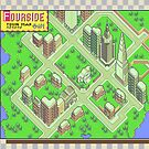 Fourside Town Map - Earthbound/Mother 2 by SophisticatC x Studio Momo╰༼ ಠ益ಠ ༽