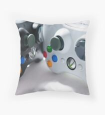 XBOX Controllers Throw Pillow