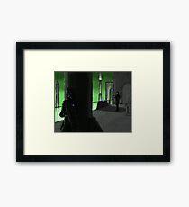 Stealth on the Docks Framed Print
