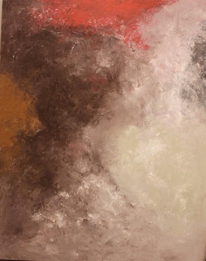Lost child in desert storm by Amogh Katyayan