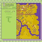 Scaraba Town Map - Earthbound/Mother 2 by Studio Momo ╰༼ ಠ益ಠ ༽