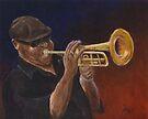 Louisiana Bluesman by Michael Beckett