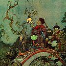 The Nightingale - Dulac by jennyjeffries