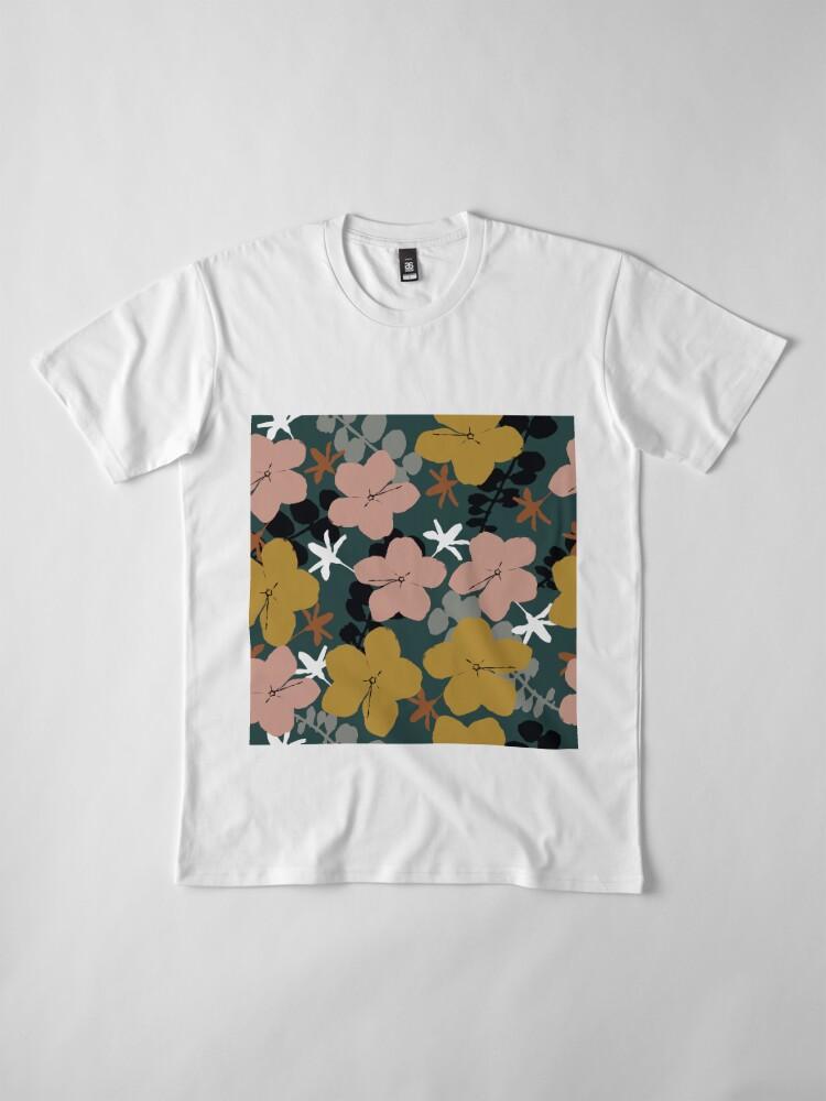 Alternative Ansicht von Oktober Garten Premium T-Shirt
