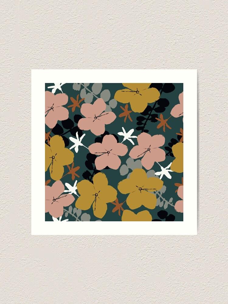 Alternative Ansicht von Oktober Garten Kunstdruck