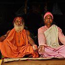 Hindu Priests by Peter Hammer
