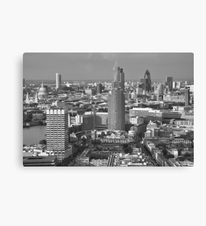 London Cityscape Canvas Print