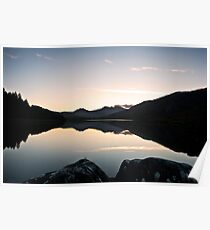 Sunset at Llyn Mymbyr Poster