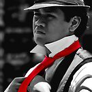 Red Tie by David Mellor
