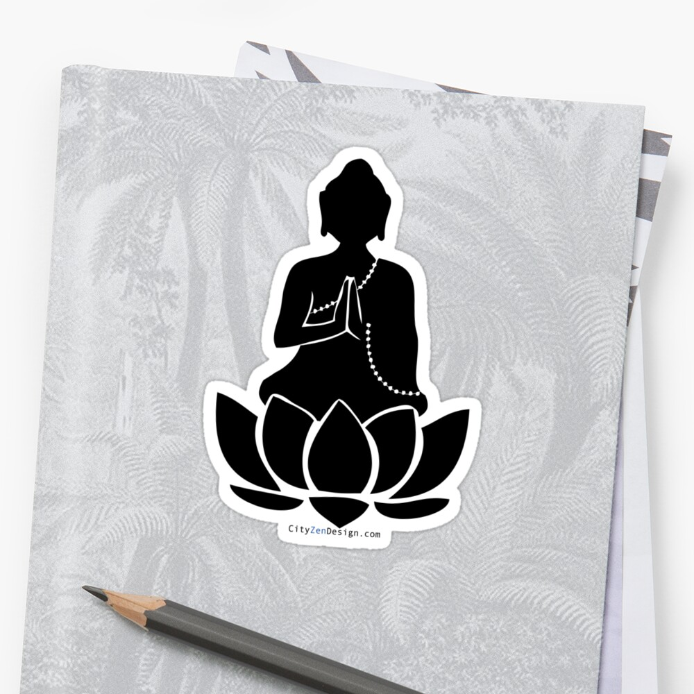 Buddha on a Lotus by CityZenDesign