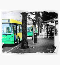Guernsey Buses Poster