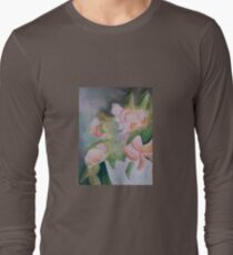 Flowers in a Pot Long Sleeve T-Shirt