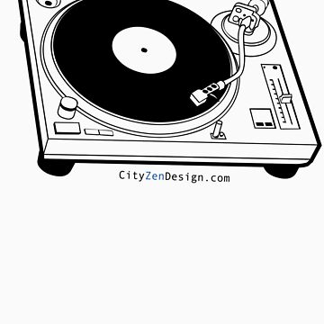 Record Player by CityZenDesign