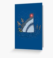 Rudolph Shark Greeting Card