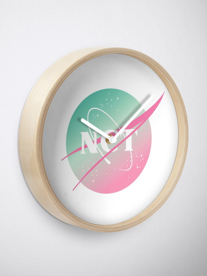 Vista alternativa de Reloj NCT nasa inspired logo