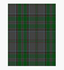 00366 Wicklow County District Tartan  Photographic Print