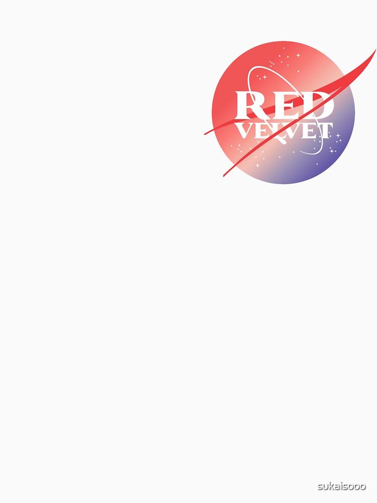 Red velvet nasa inspired logo de sukaisooo