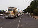 Kenworth T604 Blue Circle Southern Subcontractor Truck AC9316 by Joe Hupp