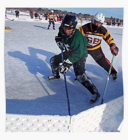 Pond Hockey - Hockey Players Poster