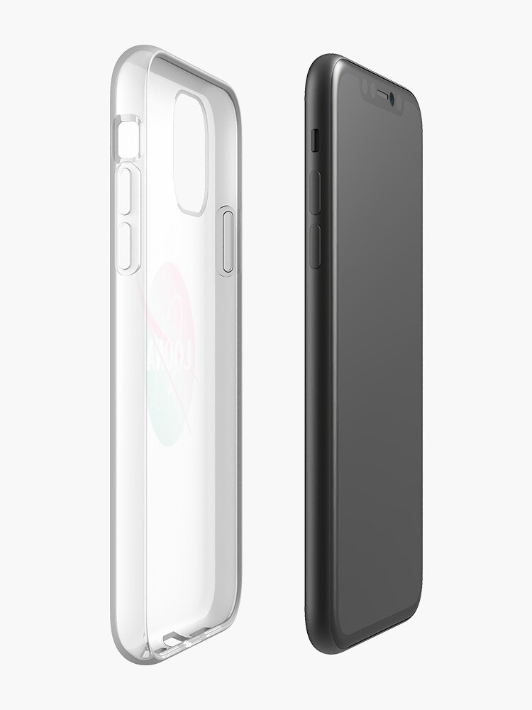 Vista alternativa de Funda y vinilo para iPhone Loona nasa inspired logo