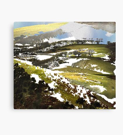 """Late Snow""  Canvas Print"
