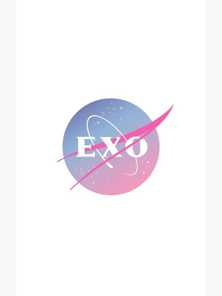 Exo nasa inspired logo de sukaisooo