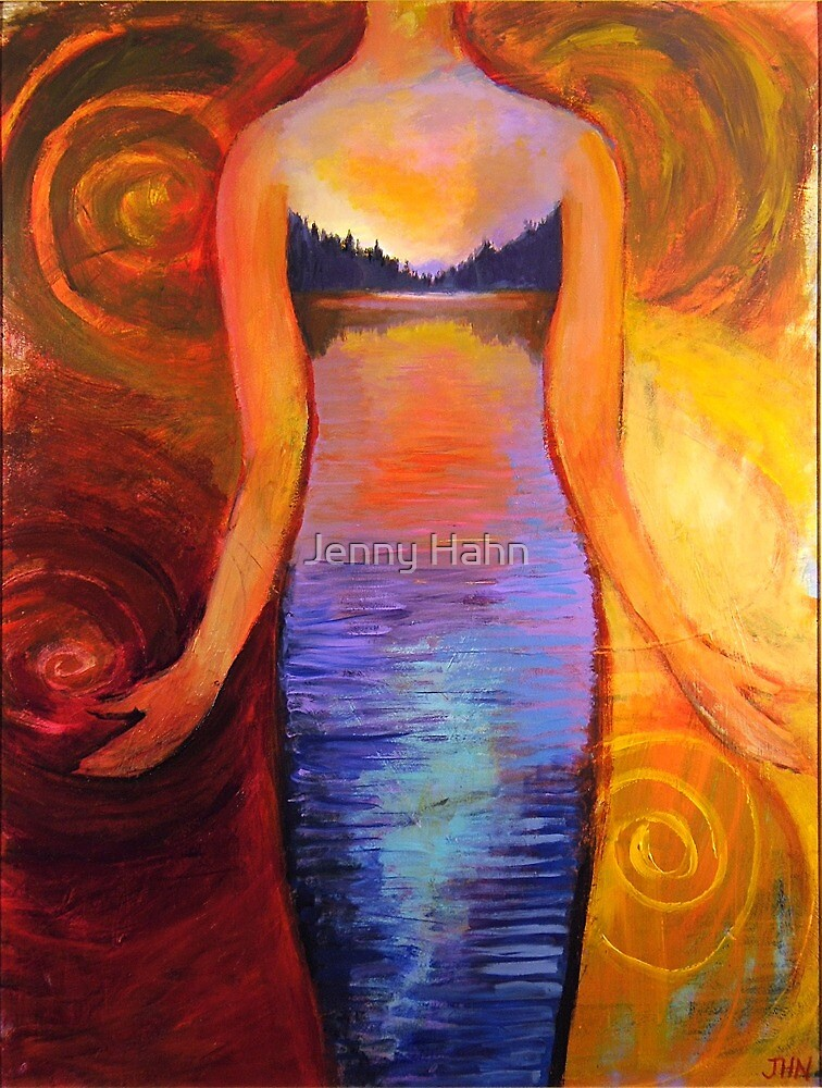 Evening Gown by Jenny Hahn
