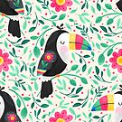 Cheeky Toucan by noondaydesign