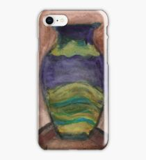Hand-Painted Vase iPhone Case/Skin
