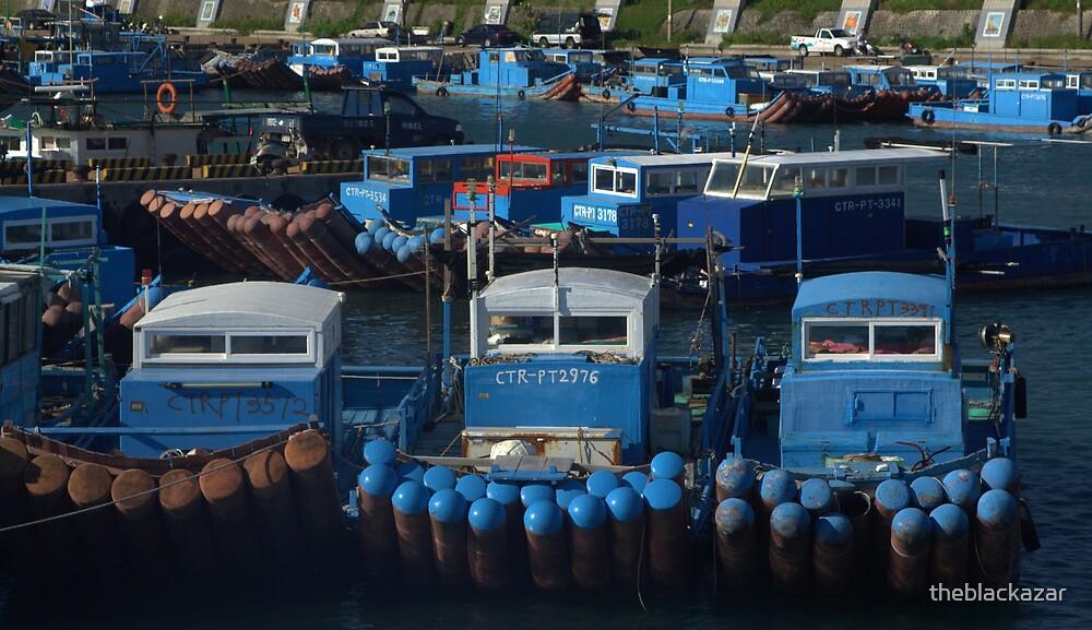 blue boat party by theblackazar