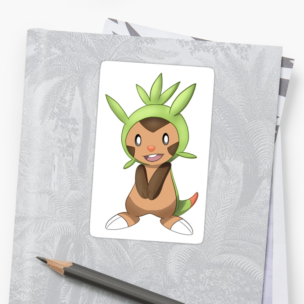 Chespin Sticker by TiffyTheDerp