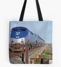 westbound AMTRAK Tote Bag