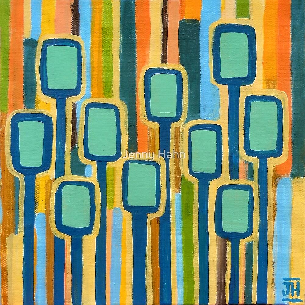 Teal Grove by Jenny Hahn