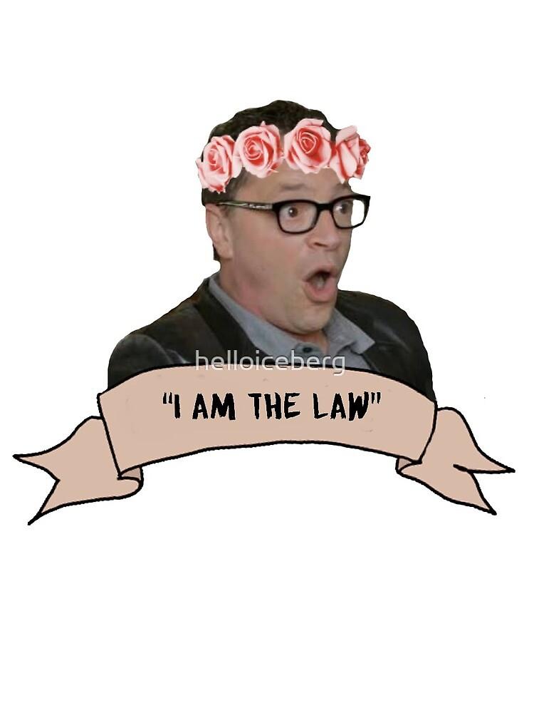 """""""I am the law"""" David Rosen by helloiceberg"""