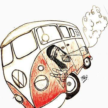 combie hippie by gerabop