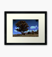 down&out Framed Print