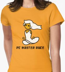 Her Lady PCMR - Master Race Womens Fitted T-Shirt