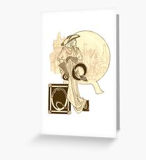 Queen Christina Greeting Card