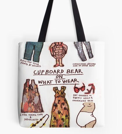 Pregnancy: Cupboard Bear on What to Wear Tote Bag