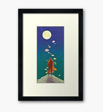 A Radiant Path Framed Print