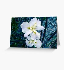 Flowers of Avatar Greeting Card