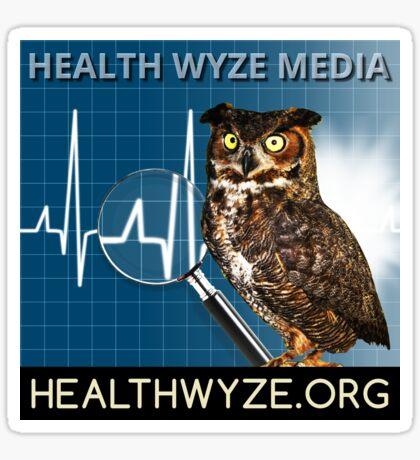 Health Wyze Media Glossy Sticker