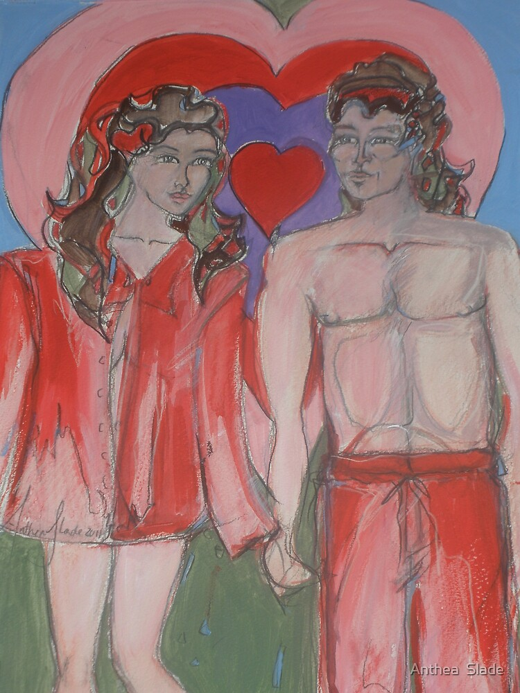 Valentines Sweethearts by Anthea  Slade