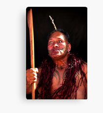 Once we were warriors... Canvas Print