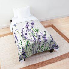 purple lavender  Comforter