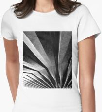 Abstract Women's Fitted T-Shirt