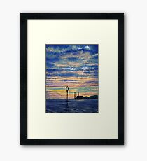 Cockenzie Sunrise Framed Print