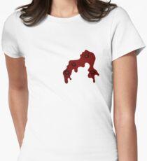 Shot through the heart Women's Fitted T-Shirt